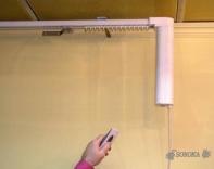 Электрокарнизы с радиоуправлением пошив штор в Одессе