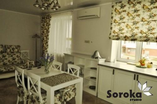 Шторы для кухни и стловой